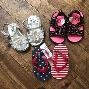 • baby girl sandal bundle •